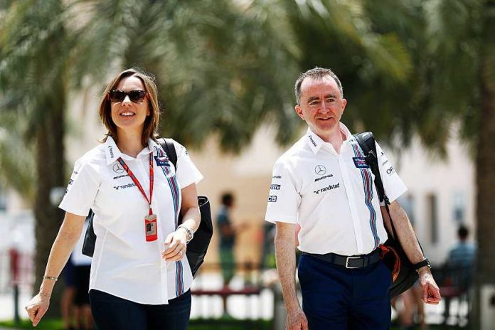 paddy lowe claire williams