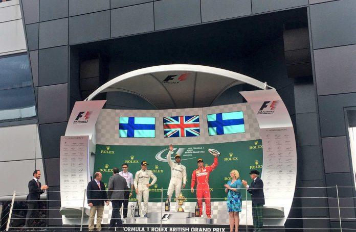silverstoune podium