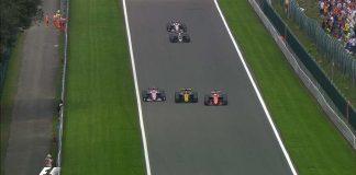 Belgijos GP lenktynėse DRS