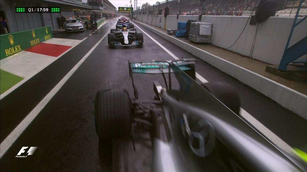 Italijos GP kvalifikacijoje