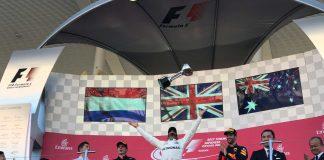 japonijos gp podiumas