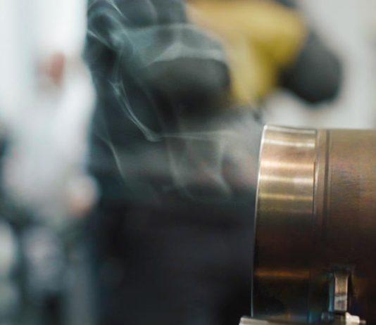 mercedes engine exhaust