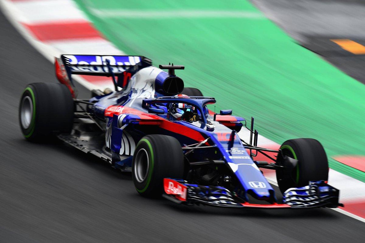 Piere Gasly Toro Rosso Honda