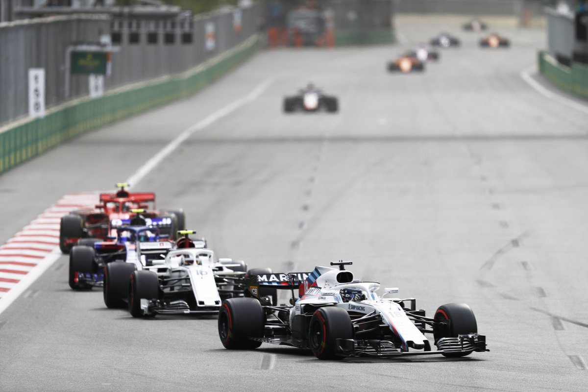 williams azerbaidžano gp fia