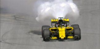 nico hulkenberg renault austrijos gp lenktynėse