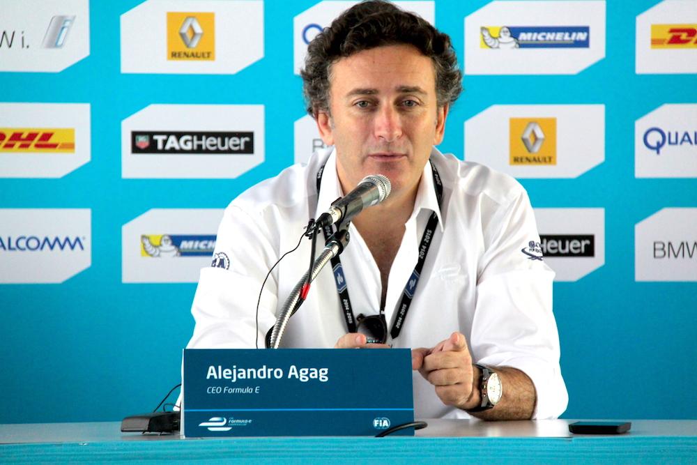Alejandro Agag Formula E FE