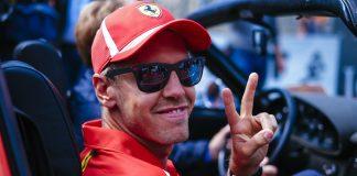 Sebastianas Vettelis ferrari